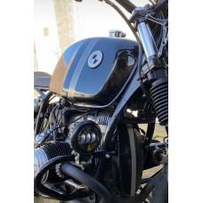 2 x Custom Aluminium BMW Vision Fuel Tank Badges