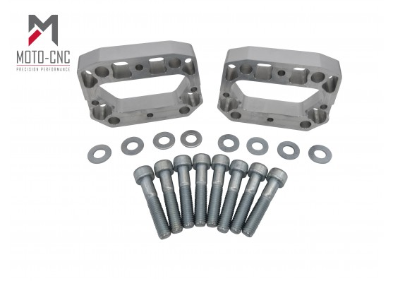 Ford Puma 12.5mm - Billet Spacer Kit Rear Axle Handling Upgrade UK Made
