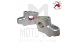 Ø 22 mm Barback Handlebar Risers - (Not Brand Specific Not Model Specific) - Silver Or Black Anodised