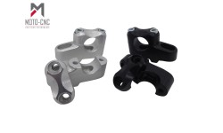 Ø 28 mm Barback Handlebar Risers - (Not Brand Specific Not Model Specific) - Silver Or Black Anodised