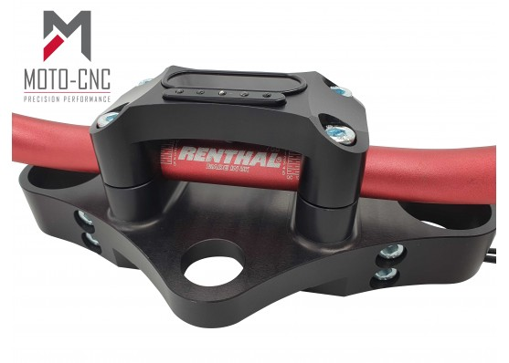 Integrated Motogadget Motoscope Mini Top Clamp Speedo Holder (Straight Bars 22mm & 28mm)