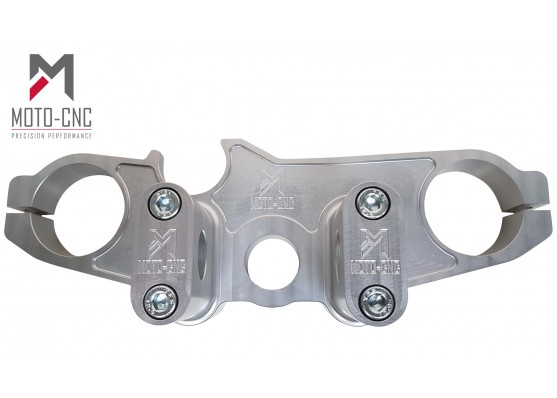 Suzuki GSXR 1000 Top Yoke Conversion 2009-2016 Silver Anodised