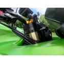 Kawasaki ZZR1400 Top Yoke Conversion 2006-On Black Anodised